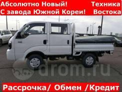 Kia Bongo III. 4WD! Новый грузовик в наличии, механический ТНВД! С завода Южной Кореи, 2 700куб. см., 1 200кг., 4x4