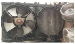 Радиатор охлаждения двигателя. Nissan Bluebird