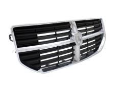 Решетка радиатора хром-чёрная Dodge Caliber 2007 - 2013