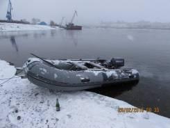 Лодка ДМБ 360 с мотором Yamaha20