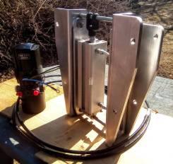 Гидро-лифт вертикальный для лодочных моторов. Малый вес, большой ход.