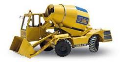 Услуги самоходного бетонозавода Carmix 3.5TT