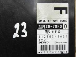 Блок управления efi Suzuki Wagon R Solio MA34S, M13A 33920-78FS-0