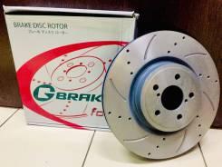 Диск тормозной перфорированный G-brake GFR-02828L / GFR-02828R