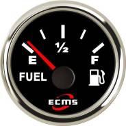 Указатель уровня топлива ECMS 0-190 Ом (нерж/черн)
