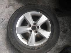 "Запаску R16 Toyota RAV 4 б/п по рф Bridgestone Dueler. 3.5x16"" ET-35 ЦО 60,1мм."