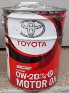Toyota Motor Oil SN Plus 0W-20 GF-5 20л. 08880-12603