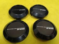 Колпачки для колес Work Emotion! Черные! В наличии!