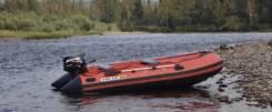 Комплект Лодка Solar 420 Jet Tunnel + Mercury 25 Jet