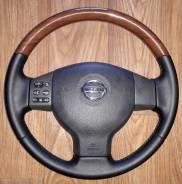 Руль кожа(кость)Nissan Tiida E11
