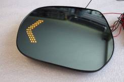 Полотна зеркал с повторами Land Cruiser J200 / Prado J150+ зона обгона