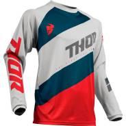 Джерси Thor S9 Sector Shear LTGY/RED размер:2Х 2910-4899