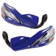 Защита рук (пластик) с крепежом ZETA Impact X3 синий ZE74-4104