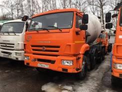 Автобетоносмеситель 58149Y шасси КАМАЗ-6540 9м3 (ЕВРО 4) б/у (2017 г., 42600км., 3730м.ч.), 2017