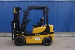 Yale. Вилочный бензиновый погрузчик 1800 кг, 1 800кг., Бензиновый