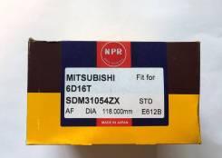 Кольца поршневые Mitsubishi FUSO 6D16T/6M60T/6D17 Japan (NPR) STD SDM31054ZX/SDM31159ZZ