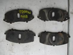 Пластины суппотра передние Suzuki Escudo