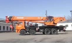 кран 40 тонн КС-65719-1К С гуськом, 2019