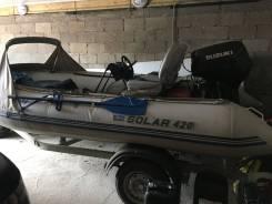 Продам лодку Солар 420