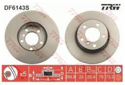 Диск тормозной передний BMW 3 (F30) 316/318/320 / 1 (F20, F21) 118/120