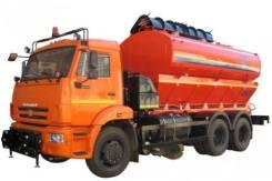 Коммаш. Комбинированная дорожная машина КО-823 на шасси Камаз 65115, 11 760куб. см.