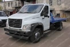 ГАЗ ГАЗон Next. Автоэвакуатор ГАЗон Некст / С41R13 / С41R33 со сдвижной платформой, 4 430куб. см., 4 420кг., 4x2
