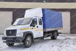 ГАЗ ГАЗон Next C42R33. Европлатформа ГАЗон Некст Фермер / С42R33 с воротами, каркасный, тент., 4 430куб. см., 4x2