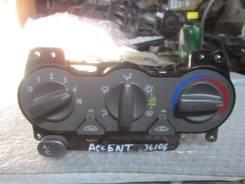Блок управления климат-контролем. Hyundai Accent, LC, LC2 D3EA, G4EA, G4EB, G4ECG, G4EDG, G4EK