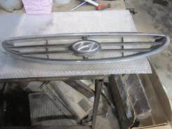 Решетка радиатора. Hyundai Accent, LC, LC2 D3EA, G4EA, G4EB, G4ECG, G4EDG, G4EK