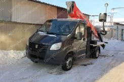 ГАЗ ГАЗель Next. Автовышка ГАЗель Некст / А21R23 / А21R22, АГП Socage T318 NEW, 2 690куб. см., 3,65м.