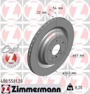 Тормозной диск Zimmermann 400550120