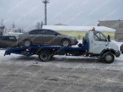 "ГАЗ 3310. Автоэвакуатор на шасси ГАЗ-33106 ""Валдай"" ломаная платформа (5650 мм. ), 4 430куб. см., 4 420кг., 4x2"