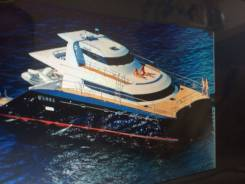 Аренда катера , VIP катамарана, Яхты во Владивостоке. 35 человек, 40км/ч