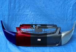ВАЗ 2170, 2171,2172 Лада Приора Бампер передний крашенный в цвет окрашенный портвейн 192