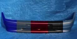 ВАЗ 2113,2114,2115 Бампер передний крашенный в цвет окрашенный ниагара 383 с полосой