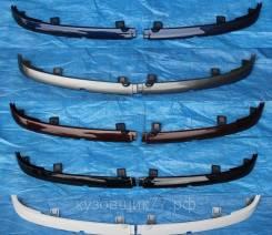 ВАЗ 2113,2114,2115 Реснички накладки под фары комплект крашенные в цвет окрашенные снежная королева 690