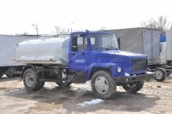 """ГАЗ. Молоковоз / Водовоз -3309 """"он"""", нерж-сталь (пищевая цистерна), 4 430куб. см., 4 595кг., 4x2"""