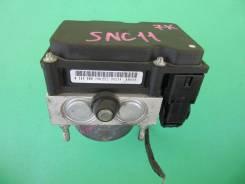 Блок abs Nissan Tiida Latio/Tiida SNC11/NC11, HR15DE. 47660-1JY6B