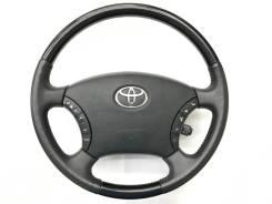 Оригинальный руль c черной косточкой Toyota