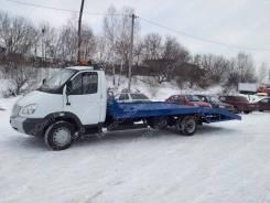 """ГАЗ 3302. Автоэвакуатор на шасси ГАЗ-3302 """"ГАЗель-Бизнес"""" ломаная платформа., 1 660кг., 4x2"""