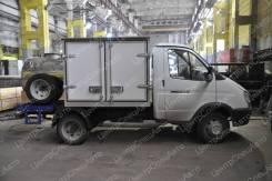 """ГАЗ 3302. Автофургон-цистерна ГАЗ-3302 """"ГАЗель-Бизнес"""" (для торговли), 2 690куб. см., 1 660кг., 4x2"""
