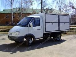 ГАЗ 3302. Автофургон для перевозки бутилированной воды ГАЗ-3302 ГАЗель (Водовоз), 2 690куб. см., 1 660кг., 4x2