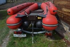 Продам мото лодку Абакан джет380