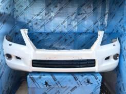 Передний бампер, белый Lexus LX 570