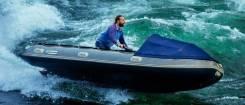 Продам лодку с встроенным гидроциклом ямаха