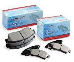 Колодки тормозные дисковые Avantech AV028