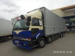 Nissan Diesel. (сороконожка) фургон 60 куб. м, 12 500куб. см., 12 000кг., 8x4
