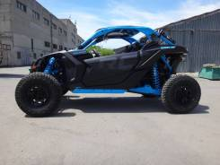 BRP Can-Am MAVERICK X3 X RC TURBO R CARBON BLACK & OCTANE BLUE, 2019
