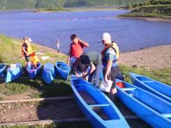 Учебная лодка-каноэ