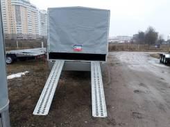 Renders. Прицеп-лафета для перевозки авто или груза, 2 000кг.